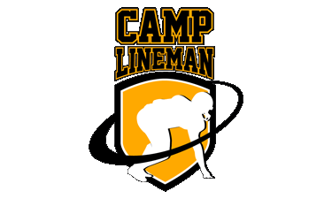 Camp Lineman – Offensive Lineman and Defensive Lineman Camps, News, Training and Evals Logo